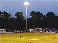 Sophia Gardens has new floodlighting (Huw John/Glamorgan CCC)