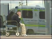 roken in rolstoel