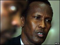 Exiled Somali Prime Minister Mohammed Ali Ghedi