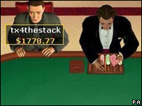 Screen grab of PartyPoker.com