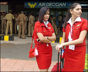 Indian air stewardesses