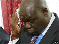 John Githongo, President Mwai Kibaki's former anti corruption advisor
