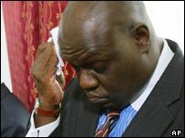 John Githongo, President Mwai Kibaki's former anti corruption advisor