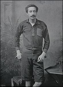 Arthur Wharton in Famous Footballers Magazine vol IX 1895