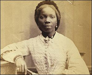 Sarah Forbes Bonetta (Sarah Davies) by Camille Silvy (1862)