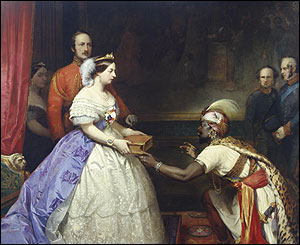 The Secret of England's Greatness by Thomas Jones Barker (1863)