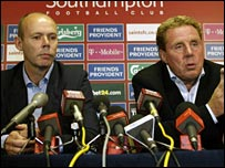 Sir Clive Woodward and Harry Redknapp