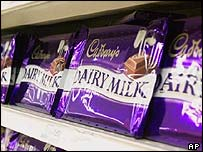 Cadbury's chocolate bars