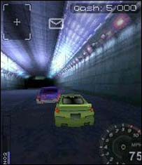 Screenshot from mobile version of Need for Speed Underground 2, Ideaworks