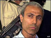 Mehmet Ali Agca in prison, June 2000