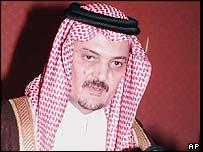 Saudi Foreign Minister Prince Saud