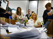 Counting votes in Livingston