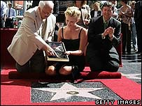 Charlize Theron on Hollywood Walk of Fame