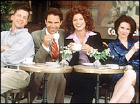 Scene from Will & Grace