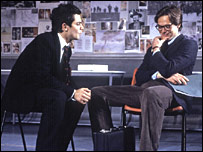 Dominic Cooper and Stephen Campbell Moore in The History Boys (credit: Ivan Kyncl)