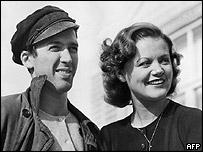 James Stewart and Simone Simon