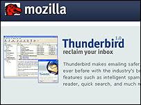 Mozilla website