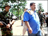 Colombian paramilitary leader and suspected drug trafficker, Diego Fernando Murillo