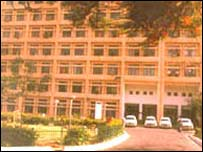 Headquarters of India's Central Bureau of Investigation