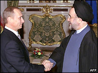 President Putin and President Khatami