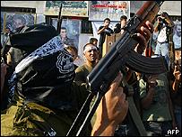 Al-Aqsa Martyrs Brigade rally