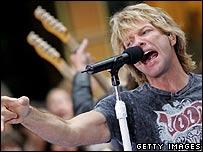 Bon Jovi singer Jon Bon Jovi