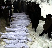 Bodies in Kashmir avalanche of 2005