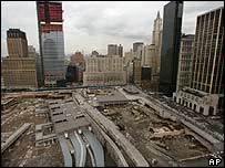 View of World Trade Centre site