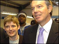 Ruth Kelly and Tony Blair