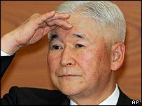 Bank of Japan governor Toshihiko Fukui