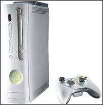 Image of Microsoft's Xbox 360 console