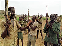 SPLA soldiers (file)