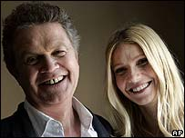 John Madden with Gwyneth Paltrow
