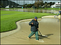 Greenkeepers have had to work overtime in Carlsbad