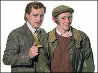 Charlie Higson and Paul Whitehouse in The Fast Show