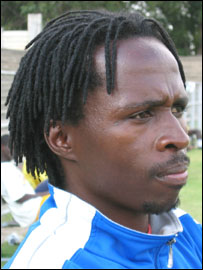 The Zimbabwe coach Charles Mhlauri
