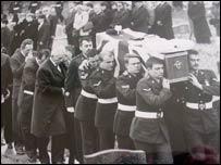 Wayne Edwards' funeral