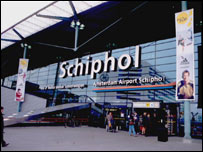 Amsterdam's Schiphol airport