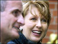 Mary McAleese and her husband Martin