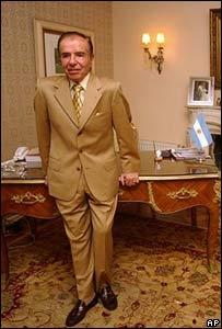 Carlos Menem, ex presidente de Argentina