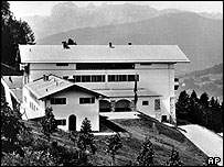 Hitler's mountain retreat in 1938