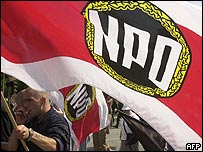 Marcha del ultraderechista Partido Nacional Demócrata (NPD) (foto archivo).