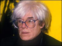 Andy Warhol (pictured in 1986)