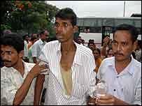 Alcohol victim in Assam. Photo: Subhamoy Bhattacharjee