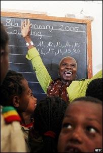 Unicef ambassador Angelique Kidjo visits Ethiopia