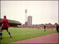 Leyton Orient's Brisbane Road ground