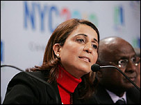 IOC evaluation commission leader Nawal El Moutawakel