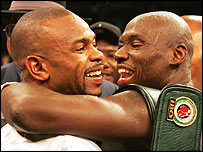 Roy Jones and Antonio Tarver