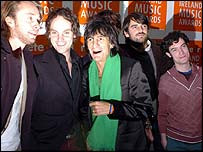 Rolling Stones guitarist Ronnie Wood with The Thrills