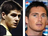 Steven Gerrard and Frank Lampard